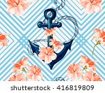 beautiful seamless vector ...   Shutterstock .eps vector #416819809