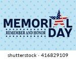 Happy Memorial Day Greeting...