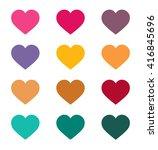 heart icon vector jpeg object... | Shutterstock .eps vector #416845696