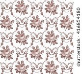 seamless classic pattern.... | Shutterstock .eps vector #416854180