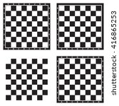 chess board background design ... | Shutterstock .eps vector #416865253