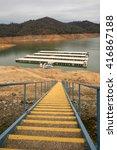 lake shasta  ca  january 2 ... | Shutterstock . vector #416867188
