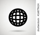 sphere icon design  | Shutterstock .eps vector #416879614