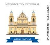 metropolitan cathedral of saint ... | Shutterstock .eps vector #416888284