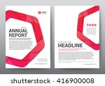layout template elements ... | Shutterstock .eps vector #416900008