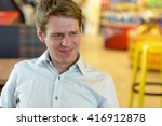 disgusted man | Shutterstock . vector #416912878