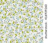 vector seamless wallpaper... | Shutterstock .eps vector #416939260