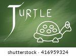 illustration of alphabet   the...   Shutterstock .eps vector #416959324