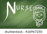 illustration of alphabet   the...   Shutterstock . vector #416967250