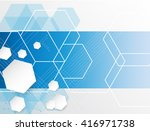 abstract background consisting... | Shutterstock .eps vector #416971738