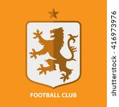 soccer football badge logo... | Shutterstock .eps vector #416973976