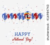 swaziland independence day... | Shutterstock .eps vector #416984743