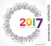 vector illustration of happy...   Shutterstock .eps vector #416994103