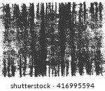 grunge texture in black and... | Shutterstock .eps vector #416995594