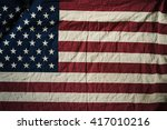 old american flag background... | Shutterstock . vector #417010216