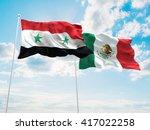 3d illustration of syria  ... | Shutterstock . vector #417022258