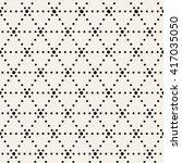 vector seamless pattern. modern ... | Shutterstock .eps vector #417035050