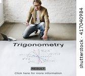 Small photo of Trigonometry Algebra Equation Knowledge Learn Concept