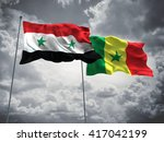 3d illustration of syria  ... | Shutterstock . vector #417042199