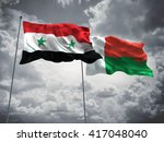 3d illustration of syria  ... | Shutterstock . vector #417048040