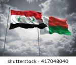 3d illustration of syria  ... | Shutterstock . vector #417048040
