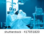 real brain surgery  two... | Shutterstock . vector #417051820