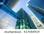 skyscraper office business... | Shutterstock . vector #417054919