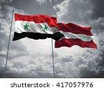 3d illustration of syria  ... | Shutterstock . vector #417057976