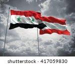 3d illustration of syria  ... | Shutterstock . vector #417059830