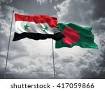 3d illustration of syria  ... | Shutterstock . vector #417059866