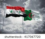 3d illustration of syria  ... | Shutterstock . vector #417067720