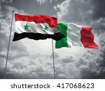 3d illustration of syria  ... | Shutterstock . vector #417068623