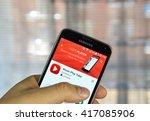 montreal  canada   april 7 ... | Shutterstock . vector #417085906