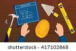 engineering and architecture...   Shutterstock .eps vector #417102868