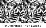 summer tropical palm tree... | Shutterstock .eps vector #417110863