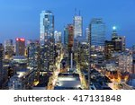 skyscrapers and office... | Shutterstock . vector #417131848
