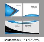brochure template  | Shutterstock .eps vector #417140998