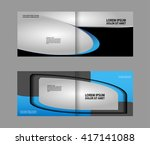 brochure design  | Shutterstock .eps vector #417141088