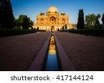 Tomb Of King Humayun In Delhi...