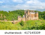 castle eltz   one of the most... | Shutterstock . vector #417145339