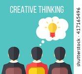 Creative Thinking Flat...
