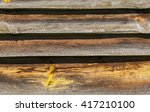 old wooden wall background ... | Shutterstock . vector #417210100