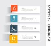 infographic design template...   Shutterstock .eps vector #417231808