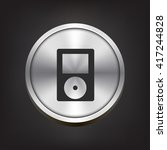 music player icon. music player ...