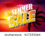 sale. summer discount or... | Shutterstock .eps vector #417255364