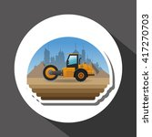under construction design.... | Shutterstock .eps vector #417270703