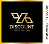 line discount design of the...   Shutterstock .eps vector #417290584