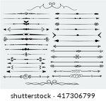 decorative elements   Shutterstock .eps vector #417306799