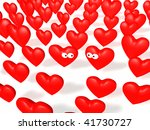 connect two hearts | Shutterstock . vector #41730727