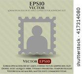 picture symbol | Shutterstock .eps vector #417314080